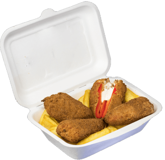 Jalapenos e patatine